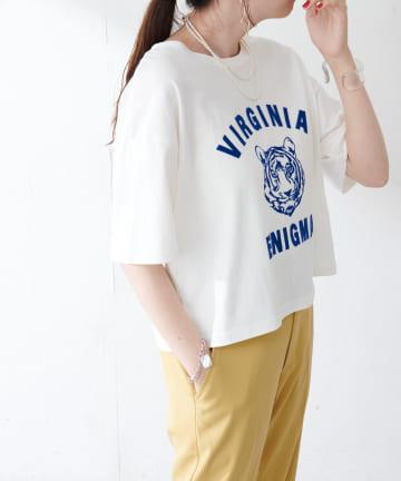 Discoat(ディスコート) TIGERプリントTシャツ
