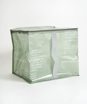 3COINS(スリーコインズ) フタ付きクリアボックス