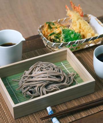 3COINS(スリーコインズ) 【季節を楽しむ食卓】トレーすだれセット:長方形