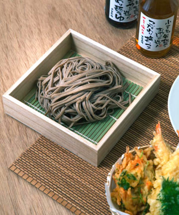 3COINS(スリーコインズ) 【季節を楽しむ食卓】トレーすだれセット:正方形