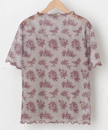 OLIVE des OLIVE OUTLET(オリーブ・デ・オリーブ アウトレット) SET・メッシュボタニカル柄+Tシャツ