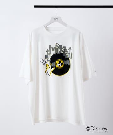 COLONY 2139(コロニー トゥーワンスリーナイン) 【DISNEY/ディズニー】DJミッキーデザインTシャツ※ユニセックス対応