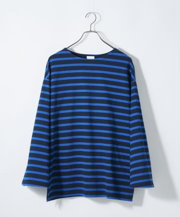 CIAOPANIC(チャオパニック) フレアスリーブボーダービッグTシャツ