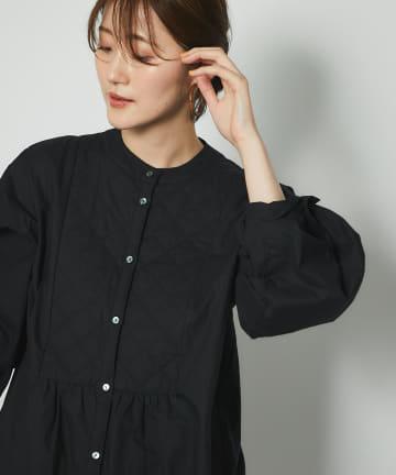 un dix cors(アンディコール) 【主役級アイテム】キルトヨークチュニックシャツ
