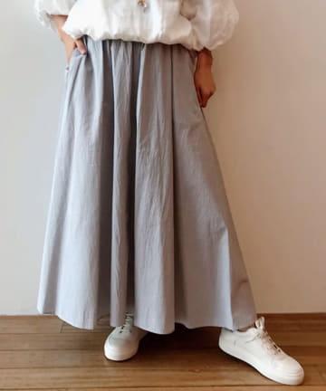 BEARDSLEY(ビアズリー) 《予約・クーポン10%OFF》細コードフレアスカート