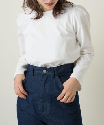OUTLET(アウトレット) 【Kastane】パフ7分袖プルオーバー