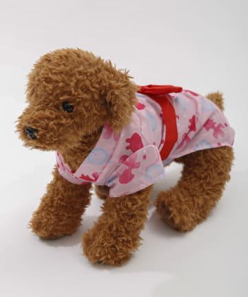 3COINS(スリーコインズ) 【季節を楽しむ着せ替えグッズ】ペット用浴衣:金魚柄