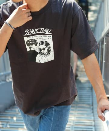Discoat(ディスコート) バンドジャケット風Tシャツ