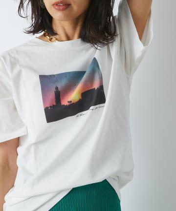 RIVE DROITE(リヴドロワ) 【シーズンレスで活躍】SILHOUETTE PHOTO Tシャツ