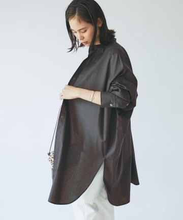 La boutique BonBon(ラブティックボンボン) 【新色追加・手洗い可】ダンプニドムチュニックシャツ