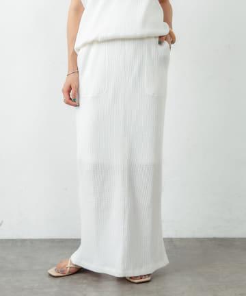 Omekashi(オメカシ) ワッフルタイトスカート
