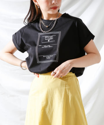Thevon(ゼヴォン) 【WEB限定】袖ターンバック招待状ロゴT