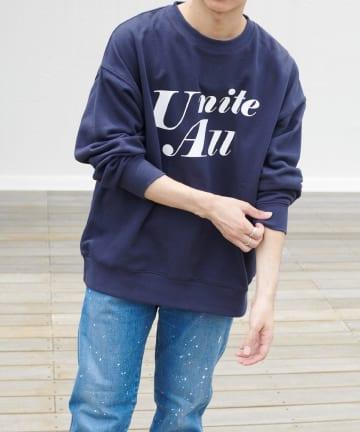 Discoat(ディスコート) 【UNITE ALL】スウェットクルーネック(ユニセックスで着用可能)