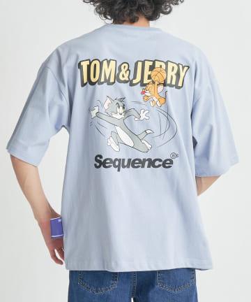 CPCM(シーピーシーエム) 【TOMandJERRY/トムとジェリー】 PLAY TAG Tシャツ