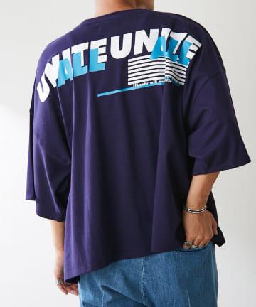Discoat(ディスコート) 【UNITE ALL】ビッグTシャツ(ユニセックスで着用可能)