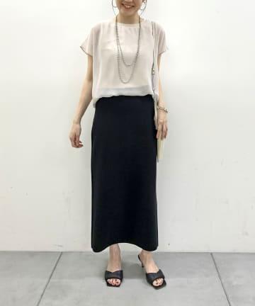 Loungedress(ラウンジドレス) ニットジャカードスカート
