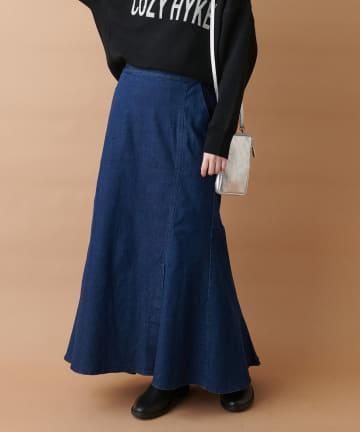 un dix cors(アンディコール) 《予約》【大人の女性らしさを演出】マーメイドデニムスカート