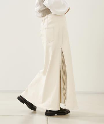 CPCM(シーピーシーエム) サイドプリーツマーメイドスカート