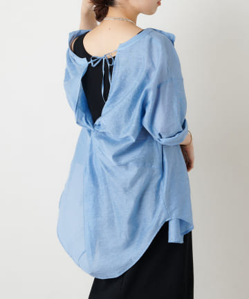 Omekashi(オメカシ) バックツイストシャツ