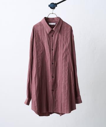 Lui's(ルイス) 【ETHOSENS×Lui's /エトセンス×ルイス】ストライプBigシャツ