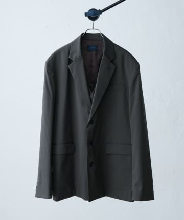 Lui's(ルイス) 【SILLI /シリス】ウール混スーパー120 ベスト付ジャケット
