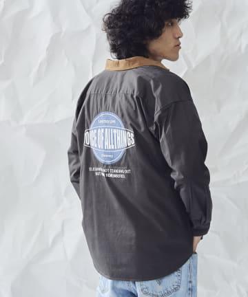 CPCM(シーピーシーエム) ツイルバック刺繍シャツ