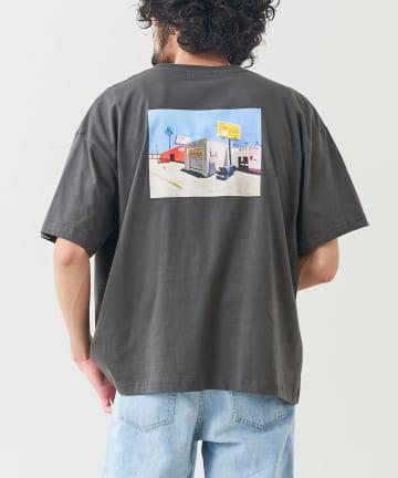 CPCM(シーピーシーエム) 【NAOTATSUMI】イラストレーターコラボTシャツ