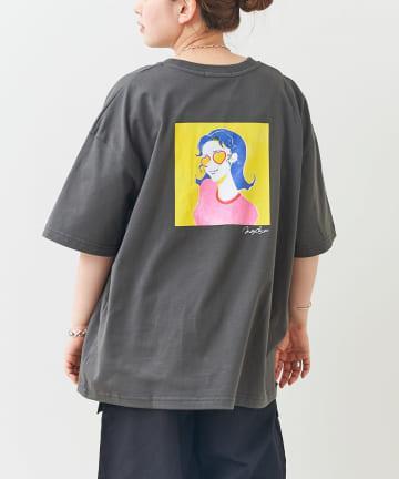 CPCM(シーピーシーエム) 【mollydomon】イラストレーターコラボTシャツ