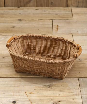 salut!(サリュ) 【KAMOME CAFE】ラタンオーバルバスケットラージ