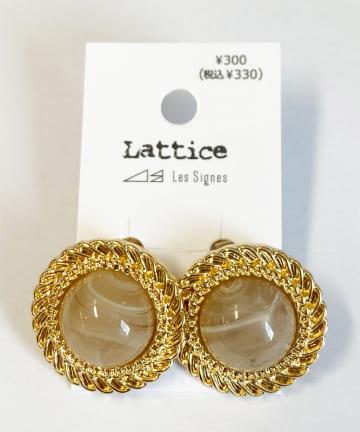 Lattice(ラティス) ヴィンテージ風イヤリング