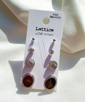 Lattice(ラティス) カラーアクリルSETピアス