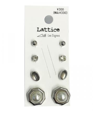 Lattice(ラティス) パールSETピアス