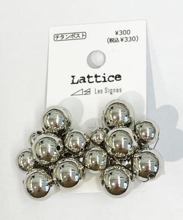 Lattice(ラティス) メタルボールチタンピアス