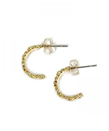 Lattice(ラティス) フラワーフープピアス