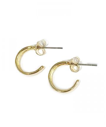 Lattice(ラティス) ワイドミニフープピアス