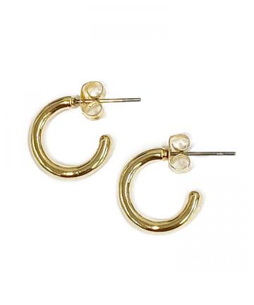 Lattice(ラティス) シンプルフープピアス