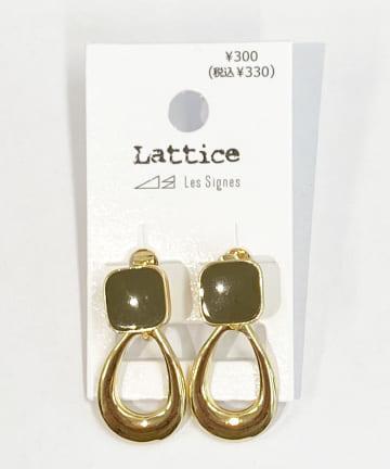 Lattice(ラティス) カラードロップイヤリング