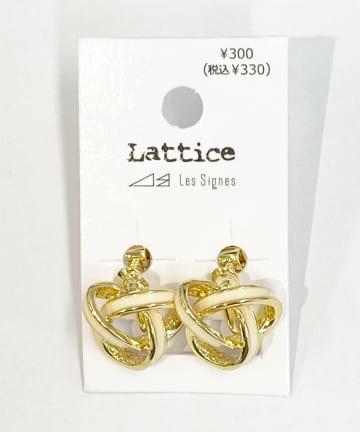 Lattice(ラティス) カラーデザインイヤリング