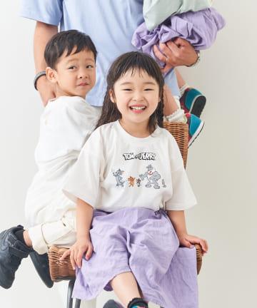 CPCM(シーピーシーエム) 【KIDS】【トムとジェリー 】バックプリントT