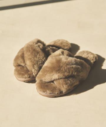 un dix cors(アンディコール) 【EMU Australia(エミューオーストラリア)】ファーサンダル