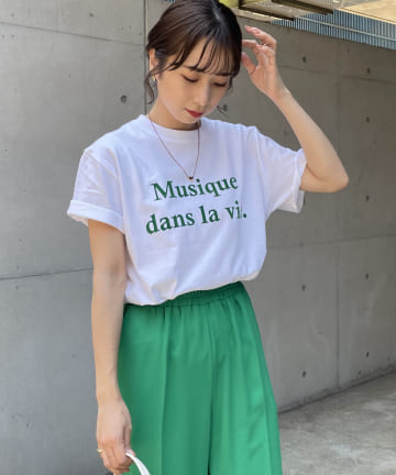 CAPRICIEUX LE'MAGE(カプリシュレマージュ) Musique Tシャツ