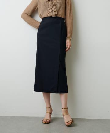 Whim Gazette(ウィム ガゼット) カットタイトスカート