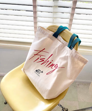 WHO'S WHO gallery(フーズフーギャラリー) 【Sourcream/サワークリーム】Fishing TOTE