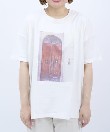 salut!(サリュ) photoTシャツ(DOOR)