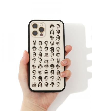 3COINS(スリーコインズ) 【ASOKO】【buggy】クリアiPhone12ケース