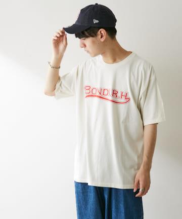 Discoat(ディスコート) 【BONDI】 TEAM Logo ビッグTシャツ(ユニセックスで着用可能)