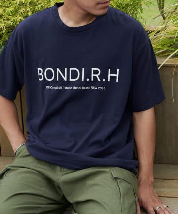 Discoat(ディスコート) 【BONDI】Address Logo ビッグTシャツ