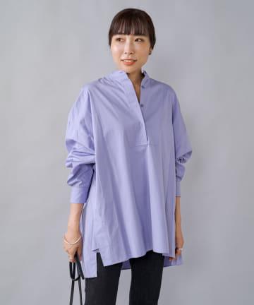 Loungedress(ラウンジドレス) 【TICCA/ティッカ】ビブヨークチュニックシャツ