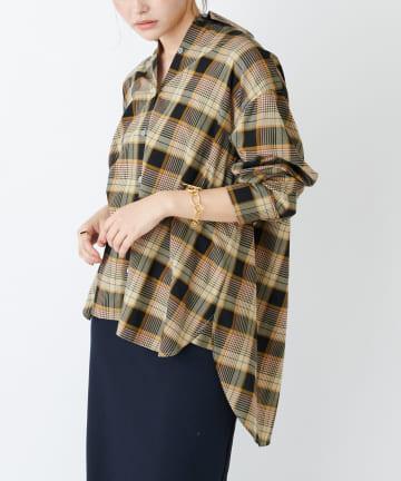 COLLAGE GALLARDAGALANTE(コラージュ ガリャルダガランテ) サスティナブルチェックシャツ