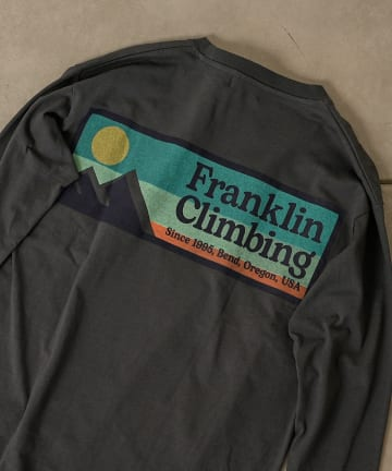 CIAOPANIC TYPY(チャオパニックティピー) 【Franklin Climbing】ロゴロンTEE